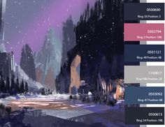 Pinned From ColorWorld:  http://ecolorworld.com/#lightbox/6/  I just like the art style and colors, their great!