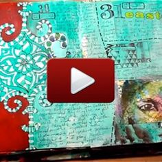 Love how she actually journals in her art journal.   7 Days in My Journal Video by Julie Fei-Fan Balzer