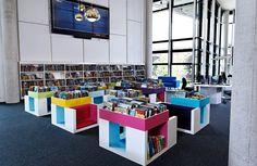 The Hive, Worcester | Demco Interiors - Inspiring Library Design