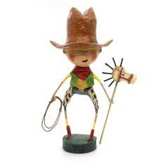 Lori Mitchell Getty Up Lil Cowboy Figurine