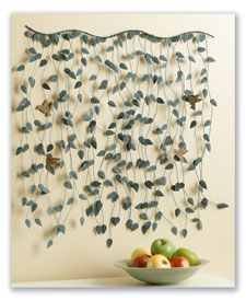 Hanging Leaves wall art $59.95