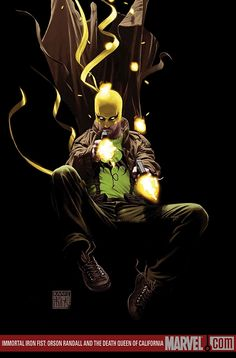 IMMORTAL IRON FIST: ORSON RANDALL ANDTHE DEATH QUEEN OFCALIFORNIA//Kaare Andrews/A/ Comic Art Community GALLERY OF COMIC ART