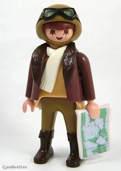 Bush Pilot, Playmobil Sets, Doll Toys, Dolls, Toy Display, Plastic Doll, Mario And Luigi, Heart For Kids, Legoland