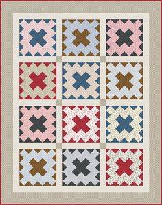 jeanannquilts: I design quilts for Andover Fabricswww.andoverfab...
