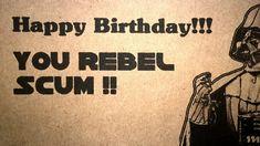 Star Wars Happy Birthday Meme
