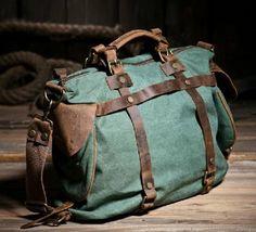 Amazon.com: Vktech Girl Canvas Handbag Single Shoulder Tote Crossbody Zip Closure (Coral green):