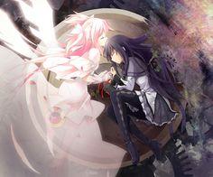 mahou shoujo madoka magica Part 57 - - Anime Image Madoka Magica, Yandere, Anime Manga, Anime Girls, Chibi, Mega Anime, Anime Friendship, Fanart, Anime Artwork