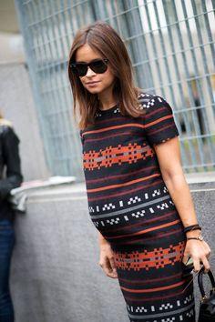 O tricot acompanha as curvas de um jeito charmoso