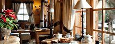 The bar - Boutique Hotel in the Alps - Les Fermes de Marie : 5 stars hotel Megève