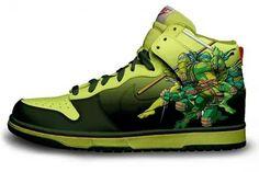 Turtle Nikes