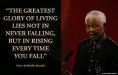 Glory of Living Neslon Mandela