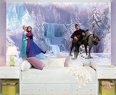 Frozen Elsa Wall Decals   RoomMates Peel and Stick Décor