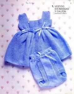 instrucciones de tejido para chambritas   Re: Camisetitas y bombachos para bebés para el verano (lomargo)