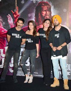 Shahid Kapoor, Alia Bhatt, Kareena Kapoor and Diljit Dosanjh at 'Udta Punjab' trailer launch. #Bollywood #Fashion #Style #Beauty #Hot #Sexy