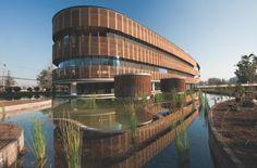 Edifício sustentável no Chile #greenbuilding