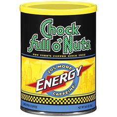 20% more caffeine...you need that extra boost of #Chock sometimes