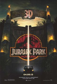 Going To See Jurassic Park! IN 3-D!