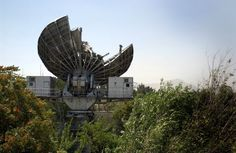 A Soviet Satellite Ground Terminal, abandoned in Afghanistan in 1989