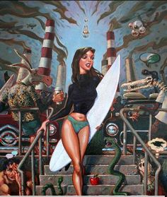 Surf's Art at Saddleback College - http://cotobuzz.blogspot.com/2012/08/surfs-art-free-with-message-at.html