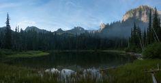 Crystal Lakes - Mt. Rainier National Park