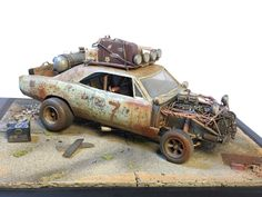Road Warrior Chevelle Scale Model by CT