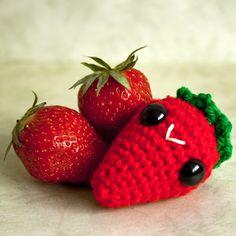 Amigurumi Kawaii Strawberry
