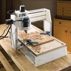 """Read """"CNC Woodworking For Beginners"""" by Alene Edelson available from Rakuten Kobo. This book covers several topics including: A Short Abc On Cnc Woodworking Cnc Woodworking And Machining Cnc And The S. Easy Wood Projects, Cnc Projects, Arduino Projects, Cnc Woodworking, Cool Woodworking Projects, Dremel, Routeur Cnc, Arduino Cnc, Diy Cnc Router"""