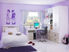 Tween Girl Bedroom Ideas for Small Rooms - Interior Design for Bedrooms Check more at http://iconoclastradio.com/tween-girl-bedroom-ideas-for-small-rooms/