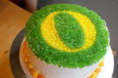 U of O cake