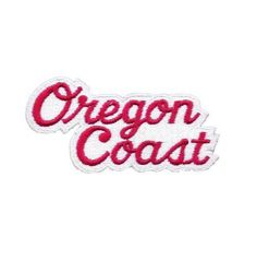 Vintage Oregon Coast Patch wide x tall Iron on Collectible High Quality Pin And Patches, Jacket Patches, Visit Oregon, Oregon Travel, Cute Little Things, Oregon Coast, Pacific Northwest, Badge, Blue And White