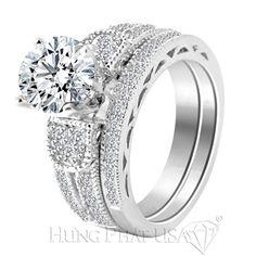 Các cô nàng đáng yêu và cá tính đâu rồi ạ, hãy chiêm ngưỡng vẻ đẹp tuyệt vời từ vỏ nhẫn kim cương vàng trắng 18K từ HungPhatUSA này bạn nhé HungPhatUSA - Thế giới hột xoàn cho bạn.