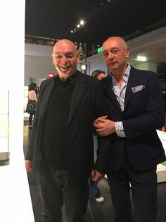 One of Interior designer Fiona Lynch's favourite moments was meeting Piero Lissoni and Jean Nouvel.  #fionalynch #fionalynchdesign #interiordesign #milan #salonedelmobile #Pierolissoni  #Jeannouvel.