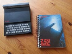 1980 – a mightly 1K of RAM ! Sinclair #ZX81 My first computer.......