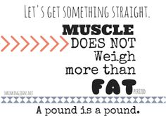 Busted: The Muscle vs Fat MYTH