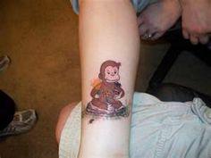 Baby Monkey Tattoos For Women Brown monkey tattoo on arm Monkey Tattoos, Hand Tattoos, Girl Tattoos, Tattoos For Women, Monkey Girl, Cute Monkey, Small Monkey, Best Tattoo Ever, First Tattoo