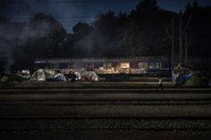 Alfredo Chiarappa – Railroad Station Platform Zero: Idomeni. burn magazine