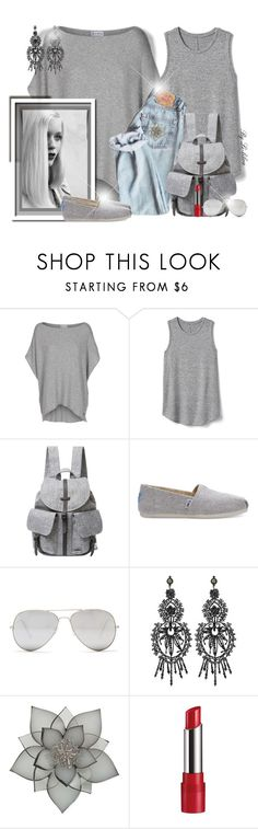 """""""~Casual~"""" by li-lilou ❤ liked on Polyvore featuring GE, Gap, Herschel Supply Co., TOMS, Sunny Rebel, Gucci, Carolee and Rimmel"""