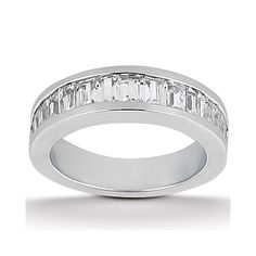 More of an interesting woman's wedding band design