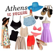 What to Pack for a Trip to Greece in Summer #travel #fashion #packinglist via TravelFashionGirl.com