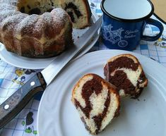Bábovka ze zakysané smetany French Toast, Muffin, Breakfast, Cakes, Food, Morning Coffee, Mudpie, Muffins, Cake