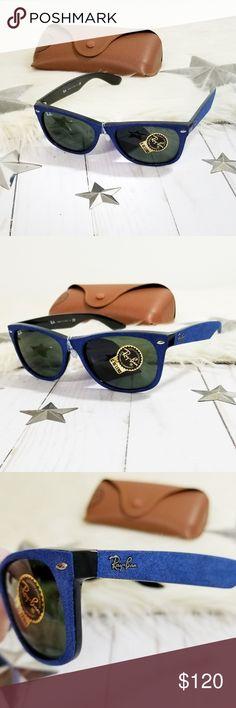 31bc1049d5 Ray-Ban New Wayfarer Classic sunglasses blue velve Ray Ban New Wayfarer  Classic sunglasses.