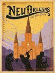 Art & Soul of America by Joel Anderson: Art deco style travel posters for America's greatest cities and national parks.