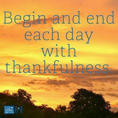 #thankfulness