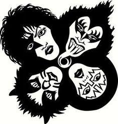 tim elliott wallofdogs on pinterest 1991 Chevy Impala banda kiss kiss rock bands kiss band kiss tattoos band logos