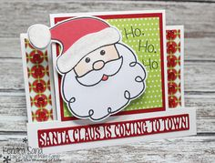 Luv 2 Scrap n' Make Cards, Handmade Christmas Card, The Stamps of Life