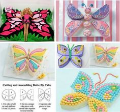 butterfly cakes