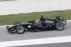 2006 Honda RA106 (James Rossiter test Barcelona)