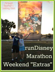 runDisney marathon weekend extras #running race retreat, pasta party, breakfast, cool down party