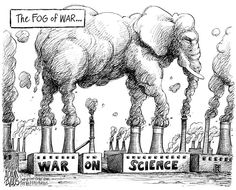 Republican War on Science....This is the hallmark technique of republicans, if something impedes your profiteering (in this case science) then attack it regardless if it's true. Attack it even if it has negative impact with major harm to others (in this case the whole rest of the world).