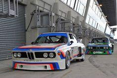 ca CSLs at Le Mans Classic 2012 (photo by Tim Scott)